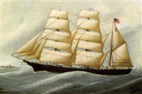 portrait of the american barque