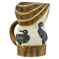 pichet gothique aux oiseaux/gothic pitcher with birds by pablo picasso