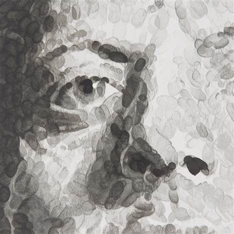 untitled phil by chuck close