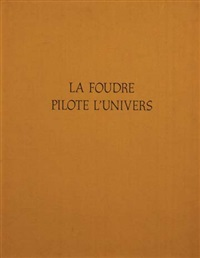 la foudre pilote l'univers (album w/3 works) by hans hartung