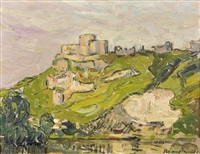 chateau gaillard by maxime maufra