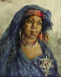 femme berbère by felipe barantes abascal