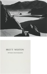 fifteen photographs (portfolio of 15) by brett weston