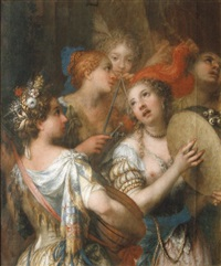 concert (fragment) by andrea celesti
