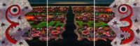 contagious (triptych) by jyothi basu