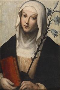 die heilige katharina von siena by domenico beccafumi
