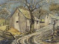 pig farm by bernard middleton