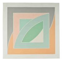 river of ponds iv (from newfoundland series) by frank stella