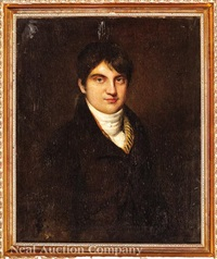 portrait of a young man by john opie