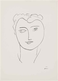 one plate, from: jeune étudiante by henri matisse