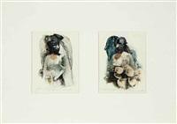 untitled (diptych) by nancy grossman