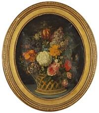 corbeille de fleurs by marie-victoire lemoine