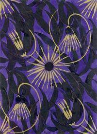 projet de tissus pour bianchini-ferier by raoul dufy