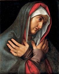 vierge en prière by andrea solario