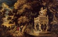 theseus on the road to athens by kerstiaen de keuninck