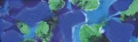 blues, greens, violet, 17 july: 1995 by patrick heron