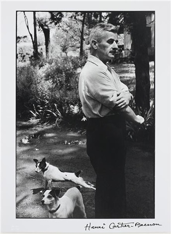 william faulkner writer oxford mississippi by henri cartier bresson