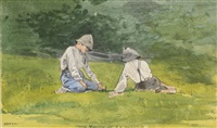 youth of s.t. preston by winslow homer