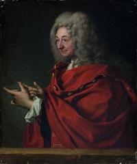 portrait présumé de saurin by jacques autreau