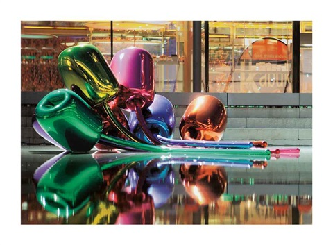 tulips by jeff koons