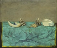 still life with shells by walter stuempfig