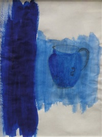 blue drawing by nancy shaver