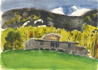 fairview, north carolina, no. 2 by fairfield porter
