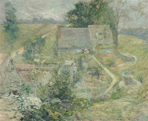 from the upper terrace by john henry twachtman