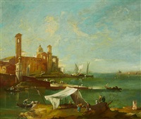 the lagoon of venice by francesco guardi