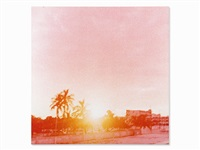 ocean + 1st (pink cape) by jack pierson