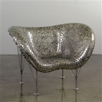 chair (model half dollar) by johnny swing