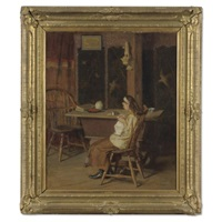 the little seamstress by john ramsey conner