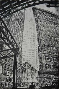 6th ave at 34th st by gottlob briem