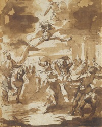 the martyrdom of saint stephen by giulio benso