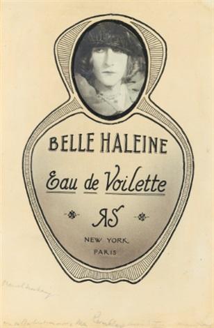 belle haleine, eau de voilette by marcel duchamp