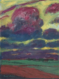 wolken by emil nolde