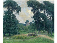 a normandy farm by guy rose