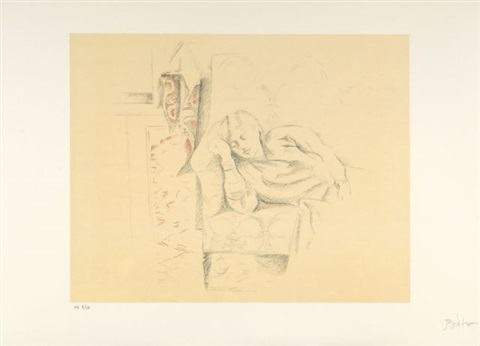 dessins portfolio of 6 by balthus