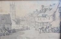 stamford, lincolnshire by thomas rowlandson