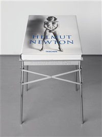 sumo book (w/metal stand by philippe starck) by helmut newton