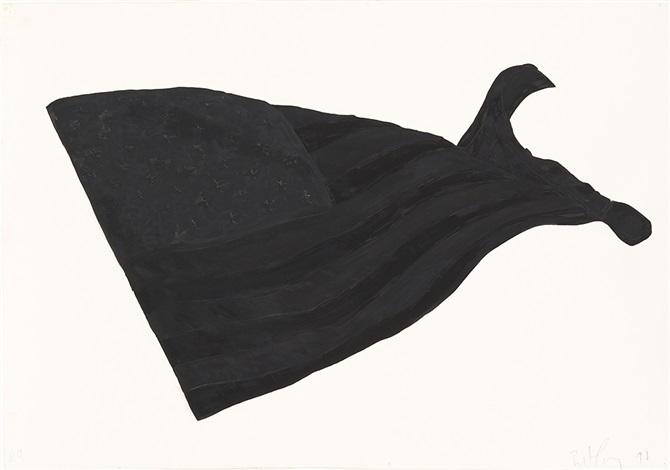 black flag n.9 by robert longo