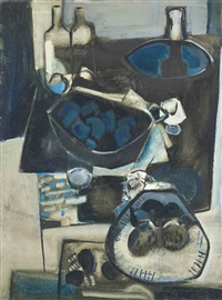 blue still life by anthony whishaw