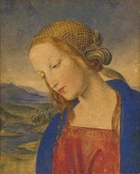 madonna (after perugino) by carl gottlieb peschel