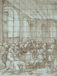 christ in the house of the pharisee by lazzaro tavarone