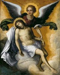 ángel sosteniendo el cuerpo inerte de cristo by flemish school (16)