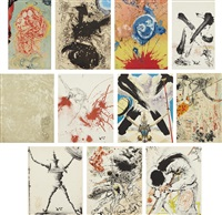 don quichotte de la mancha, by miguel de cervantés saavedra (set of 11) by salvador dalí