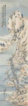 雪景寒林 by huang shanshou