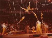 moscow circus acrobats by harold eugene edgerton