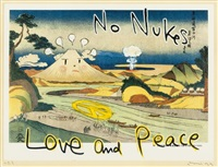 no nukes ! (from in the floationg world) by yoshitomo nara