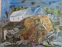 country colour, purbeck by frances mary hodgkins